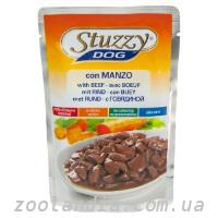 STUZZY Dog Beef ШТУЗИ ГОВЯДИНА в соусе корм для собак, ...