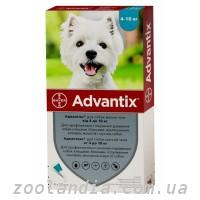Advantix (Адвантикс) против блох, клещей, комаров для собак 4-10 кг (1 пипетка)