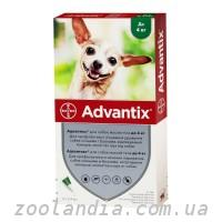 Advantix (Адвантикс) против блох, клещей, комаров для собак до 4 кг (1 пипетка)