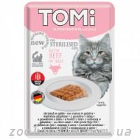 TOMi (Томи) Sterilised Beef in Jelly Томи Стерилайзид говядина в желе, пауч