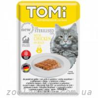 TOMi (Томи) Sterilised Chicken in Jelly Томи Стерилайзид курица в желе, пауч