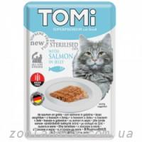 TOMi (Томи) Sterilised Salmon in Jelly Томи Стерилайзид лосось в желе, пауч