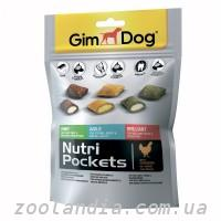GimDog (Джимдог) Nutri Pockets Mix Лакомства для собак (ассорти) 150гр