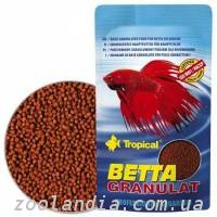 Tropical Betta Granulat Тропикал Бетта Гранулят (Сухой корм для петушков),10гр.