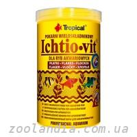 Tropical Ichtio-vit (Основной корм для всех видов рыб,хлопья)
