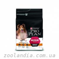 Purina Pro Plan (Про план) ADULT MEDIUM Optihealth Сухо...