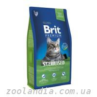 Brit Premium (Брит Премиум) Cat Sterilised для стерилиз...