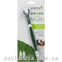 Espree (Эспри) Oral Care 3 in 1 Brush, Щетка для ухода за зубами и полостью рта собак 3 в 1