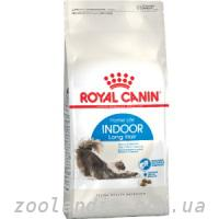Royal Canin (Роял Канин) Indoor Longhair 35 - корм для длиношерстных кошек от 1 года до 10 лет, живущих в помещении