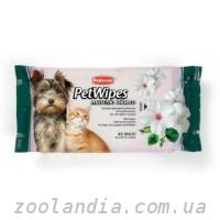 Padovan (Падован) Pet Wipes Muschio Bianco Очищающие влажные салфетки с ароматом белого мускуса для собак кошек