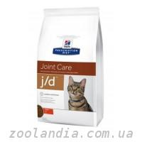 Hill's  ( Хилс ) Prescription Diet Feline j/d Joint Care корм для кошек с курицей