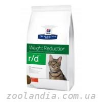 Hill's ( Хилс ) Prescription Diet Feline r/d Weight Reduction корм для кошек с курицей