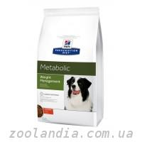 Hill's ( Хилс ) Prescription Diet Canine Metabolic Weight Management корм для собак с курицей
