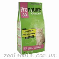 Pronature Original  Kitten Growth 30 (Пронатюр Ориджинал Киттен) корм для котят с курицей