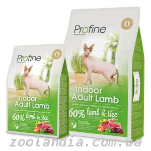 Profine (Профайн) Indoor Adult Lamb для котов и кошек содержащихся в помещении
