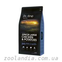 Profine (Профайн) Junior Large Breed Chicken and Potato...