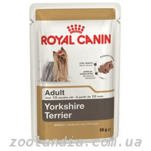 Royal Canin (Роял Канин) YORKSHIRE TERRIER ADULT (паштет)