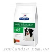 Hill's ( Хилс ) Prescription Diet Canine r/d Weight Reduction корм для собак курицей