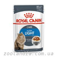 Акция 8+4!!! Royal Canin (Роял Канин) Ultra Light консе...