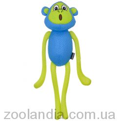 Coastal Rascals Feisty Flappers Mesh Toy Mazie Monkey КОСТАЛ ОБЕЗЬЯНА МАЗИ игрушка для собак