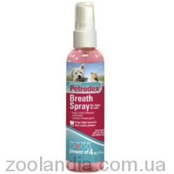 Sentry Petrodex БРИЗ СПРЕЙ (Breath Spray) спрей освежитель дыхания для собак и котов