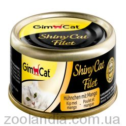 Gimpet (Джимпет) Shiny Cat Filet, c курицей и манго