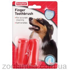 Beaphar (Беафар) Finger Toothbrush Зубная щетка на палец для собак